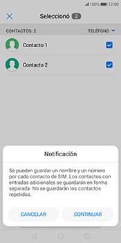¿Tu equipo puede copiar contactos a la SIM card? - Huawei Mate 10 Pro - Passo 8
