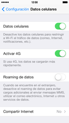 Configura el hotspot móvil - Apple iPhone 5c - Passo 4