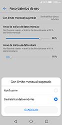 Desactivación límite de datos móviles - Huawei Y5 2018 - Passo 11