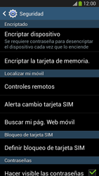 Desbloqueo del equipo por medio del patrón - Samsung Galaxy Zoom S4 - C105 - Passo 6