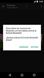 Transferir fotos vía Bluetooth - LG K8 (2017) - Passo 11