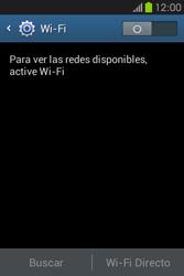Configura el WiFi - Samsung Galaxy Fame GT - S6810 - Passo 5