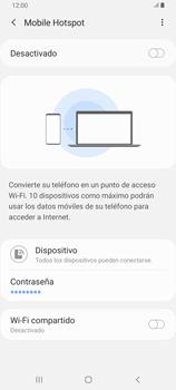 Configura el hotspot móvil - Samsung Galaxy A80 - Passo 7