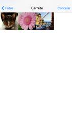 Envía fotos, videos y audio por mensaje de texto - Apple iPhone 6 - Passo 10