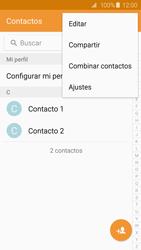¿Tu equipo puede copiar contactos a la SIM card? - Samsung Galaxy S6 - G920 - Passo 5