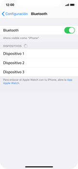 Conecta con otro dispositivo Bluetooth - Apple iPhone 11 Pro - Passo 5