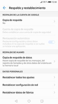 Restaura la configuración de fábrica - Huawei P10 Plus - Passo 5