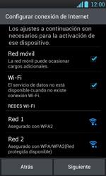 Activa el equipo - LG Optimus L7 - Passo 6