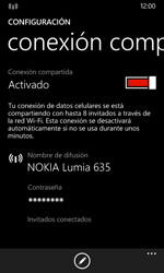 Configura el hotspot móvil - Nokia Lumia 635 - Passo 10