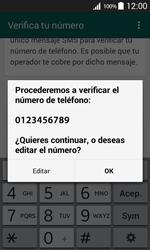 Configuración de Whatsapp - Samsung Galaxy Core Prime - G360 - Passo 6