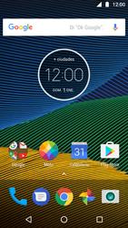 Configura el hotspot móvil - Motorola Moto G5 - Passo 1