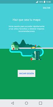 Uso de la navegación GPS - LG Q6 - Passo 4