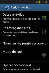 Configura el Internet - Samsung Galaxy Fame GT - S6810 - Passo 6