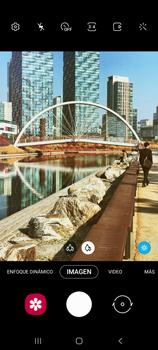 Cómo usar los efectos de la cámara - Samsung Galaxy S10 Lite - Passo 4
