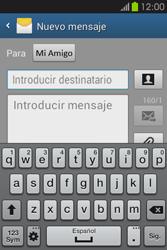 Envía fotos, videos y audio por mensaje de texto - Samsung Galaxy Fame GT - S6810 - Passo 8