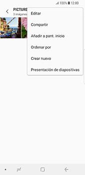Transferir fotos vía Bluetooth - Samsung Galaxy S9 - Passo 9