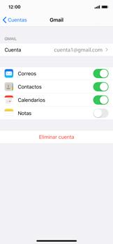 Desactivar la sincronización automática - Apple iPhone XS - Passo 5