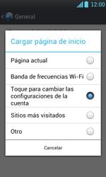 Configura el Internet - LG Optimus L7 - Passo 25