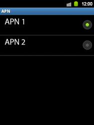 Configura el Internet - Samsung Galaxy Y  GT - S5360 - Passo 17
