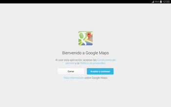 Uso de la navegación GPS - Samsung Galaxy Note Pro - Passo 4