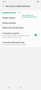 Configuración del identificador de llamadas - Samsung Galaxy A30 - Passo 9