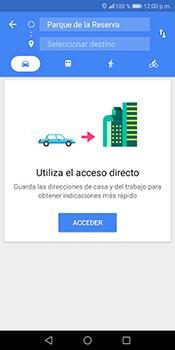 Uso de la navegación GPS - Huawei Mate 10 Lite - Passo 12