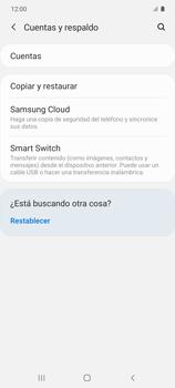Realiza una copia de seguridad con tu cuenta - Samsung Galaxy S10 Lite - Passo 5