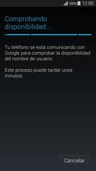 Crea una cuenta - Samsung Galaxy A3 - A300M - Passo 8