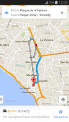 Uso de la navegación GPS - Samsung Galaxy Alpha - G850 - Passo 13