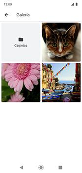 Envía fotos, videos y audio por mensaje de texto - Motorola Moto G7 Plus - Passo 12