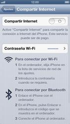 Configura el hotspot móvil - Apple iPhone 5 - Passo 4