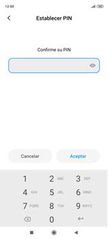 Habilitar seguridad de huella digital - Xiaomi Redmi Note 9 Pro - Passo 10