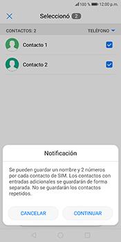 ¿Tu equipo puede copiar contactos a la SIM card? - Huawei Mate 10 Lite - Passo 8