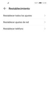 Restaura la configuración de fábrica - Huawei P40 Lite - Passo 5