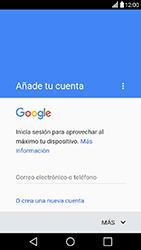 Crea una cuenta - LG X Power - Passo 2