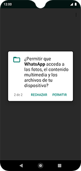 Configuración de Whatsapp - Motorola Moto G7 Plus - Passo 9
