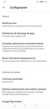Cambiar configuración de actualizaciones de aplicaciones - Huawei P30 - Passo 5