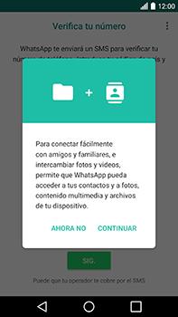 Configuración de Whatsapp - LG V20 - Passo 5
