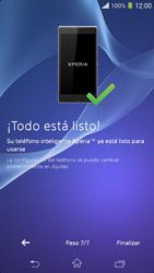 Activa el equipo - Sony Xperia M2 Aqua D2303 - Passo 13