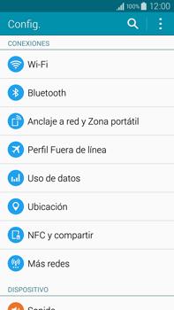 Configura el Internet - Samsung Galaxy Note IV - N910C - Passo 4