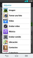 Envía fotos, videos y audio por mensaje de texto - LG G2 - Passo 13