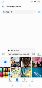 Envía fotos, videos y audio por mensaje de texto - Huawei P20 Lite - Passo 12