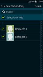 ¿Tu equipo puede copiar contactos a la SIM card? - Samsung Galaxy Alpha - G850 - Passo 10