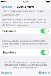 Crea una cuenta - Apple iPhone 4s - Passo 16