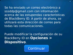 Crea una cuenta - BlackBerry Curve 9320 - Passo 10