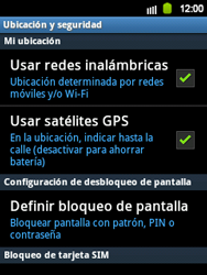 Desbloqueo del equipo por medio del patrón - Samsung Galaxy Y  GT - S5360 - Passo 5