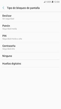 Desbloqueo del equipo por medio del patrón - Samsung Galaxy A7 2017 - A720 - Passo 6