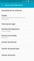Actualiza el software del equipo - Samsung Galaxy S6 Edge - G925 - Passo 6