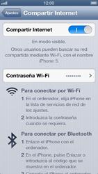 Configura el hotspot móvil - Apple iPhone 5 - Passo 8