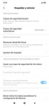 Realiza una copia de seguridad con tu cuenta - Xiaomi Redmi Note 7 - Passo 5